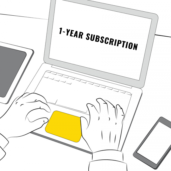 1-Year subscription
